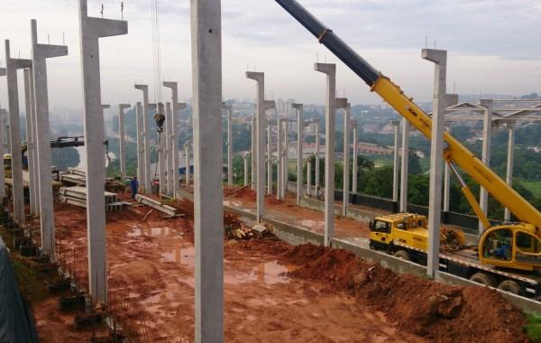 Pré fabricados de concreto sp