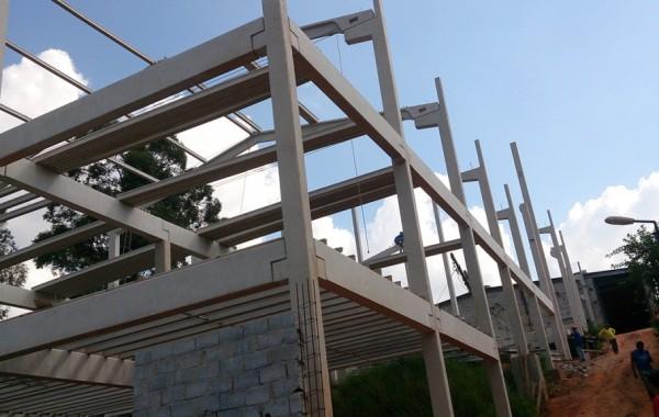 Galpões pré fabricados de concreto