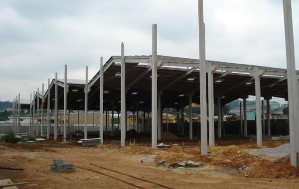 Construção de barracão pré fabricado
