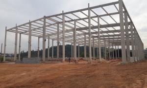 Construções de galpões pré-moldados