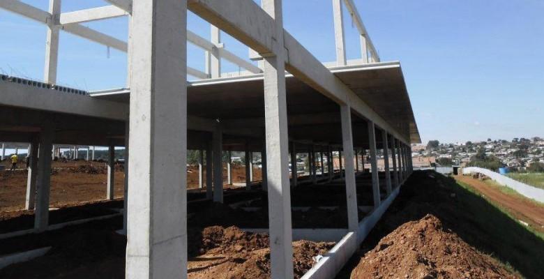 Vigas pré moldadas de concreto