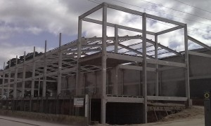 Construção de galpão em Mogi das Cruzes