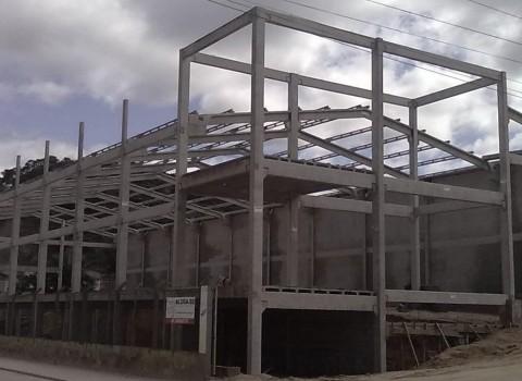 Construção de galpão em Diadema