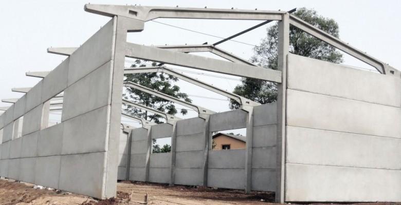 Painel de concreto pré fabricado