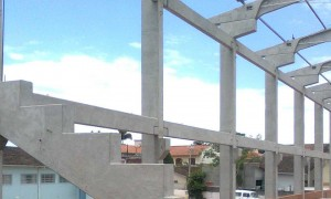 Construção de galpões pré moldados