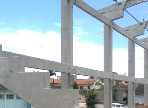 Construção de galpão em Taubaté