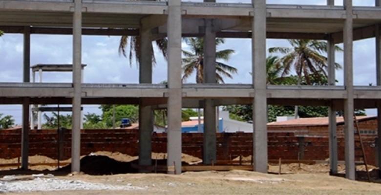 Construção de galpão no Guarujá