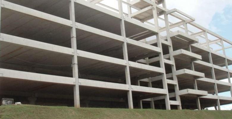 Galpão pré moldado de concreto