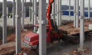 Construção de galpão em Franca
