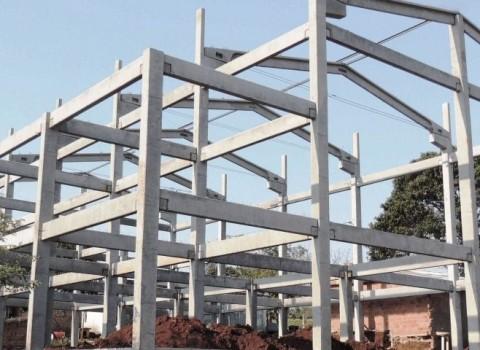 Construção de galpão em São Vicente