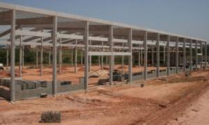 Construção de galpão em Limeira