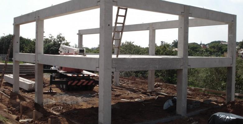 Construção de galpão em Santa Barbara d' Oeste