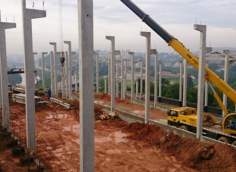 Galpão pré moldado de concreto preço