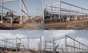 Construção de galpão em Itu