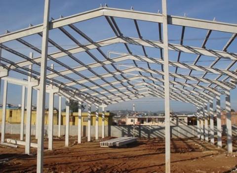 Construção de galpão em São José dos Campos