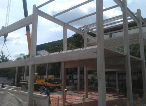 Construção de galpão Santana de Parnaíba