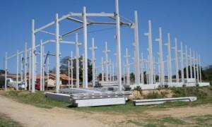 Quanto custa construir um galpão de 200m2