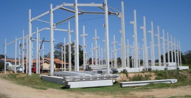 Estrutura pré fabricada de concreto SP