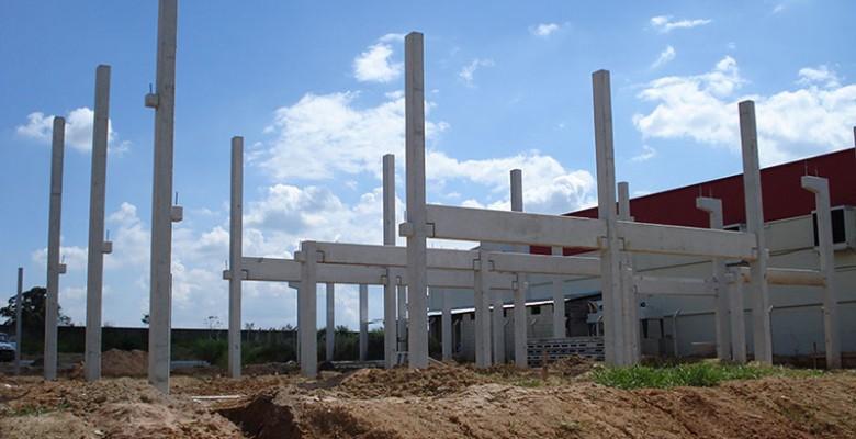 Construção de galpão pré-moldado preço
